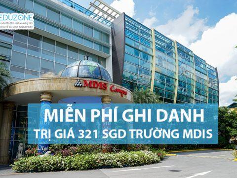 MDIS miễn phí ghi danh kỳ tháng 1/2018