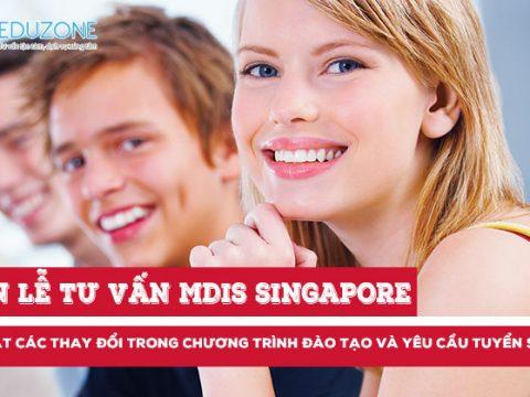 Tuần lễ tư vấn du học MDIS Singapore 2018 (13-18/11/17)