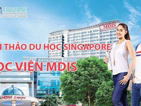 """Ngày hội """"Hội thảo du học cùng MDIS Singapore"""""""