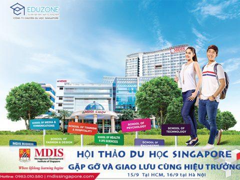 Gặp gỡ trực tiếp Hiệu trưởng Học viện MDIS Singapore