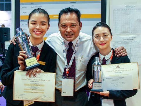 2 sinh viên MDIS đoạt giải cao Cuộc thi Pha chế Cocktail 2019